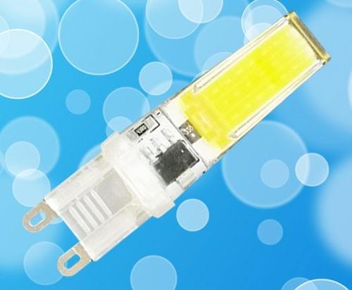 Светодиодная лампа Biom G9 5W 3000K 220V в силиконе Код.58699
