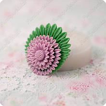 Силиконовый молд на цветок, для полимерной глины