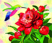 Картина по номерам 7132 Яркая птичка (25 х 30 см) Идейка