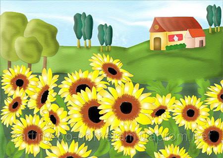 Картина по номерам 7134 Родные поля (25 х 35 см) Идейка