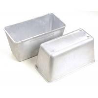 Форма для хлеба алюминиевая, 800 г, идеальна для выпечки формовых буханок, толстые стенки