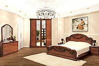 Спальня 4Д Опера орех лак (Світ Меблів TM)