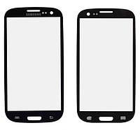 Стекло сенсорного экрана Samsung i9300 black Galaxy S3