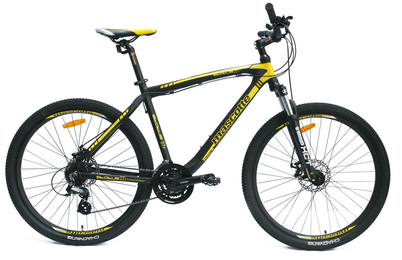 Велосипед гірський MASCOTTE STATUS 27.5 md