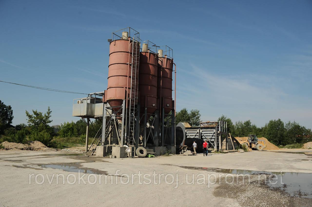 Стационарный бетонный узел АБСУ-50 (конвейер)