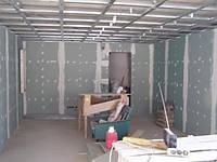 Монтаж гипсокартонных конструкций (стена)