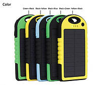 Внешний аккумулятор Solar Power Bank 8000mAh с солнечной батареей