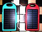 Внешний аккумулятор Solar Power Bank 8000mAh с солнечной батареей, фото 4