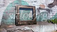 Каминные дверки300х300, со стеклокерамикой, фото 1