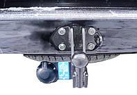 Toyota LC Prado 120 2003-2009 фаркоп на штатный крепёж Полигон Авто