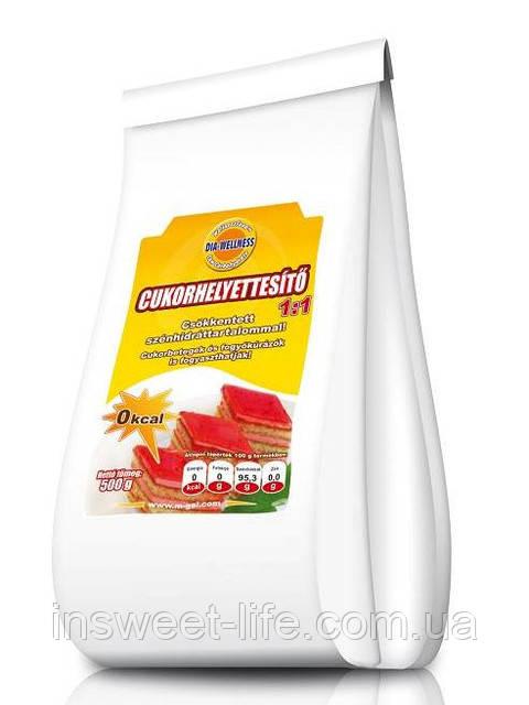 Заменитель сахара 1:1 0 кКал 0,5кг/упаковка