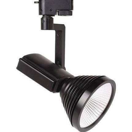 Світлодіодний світильник трековий Horoz HL824L 12W чорний Код.57123, фото 2