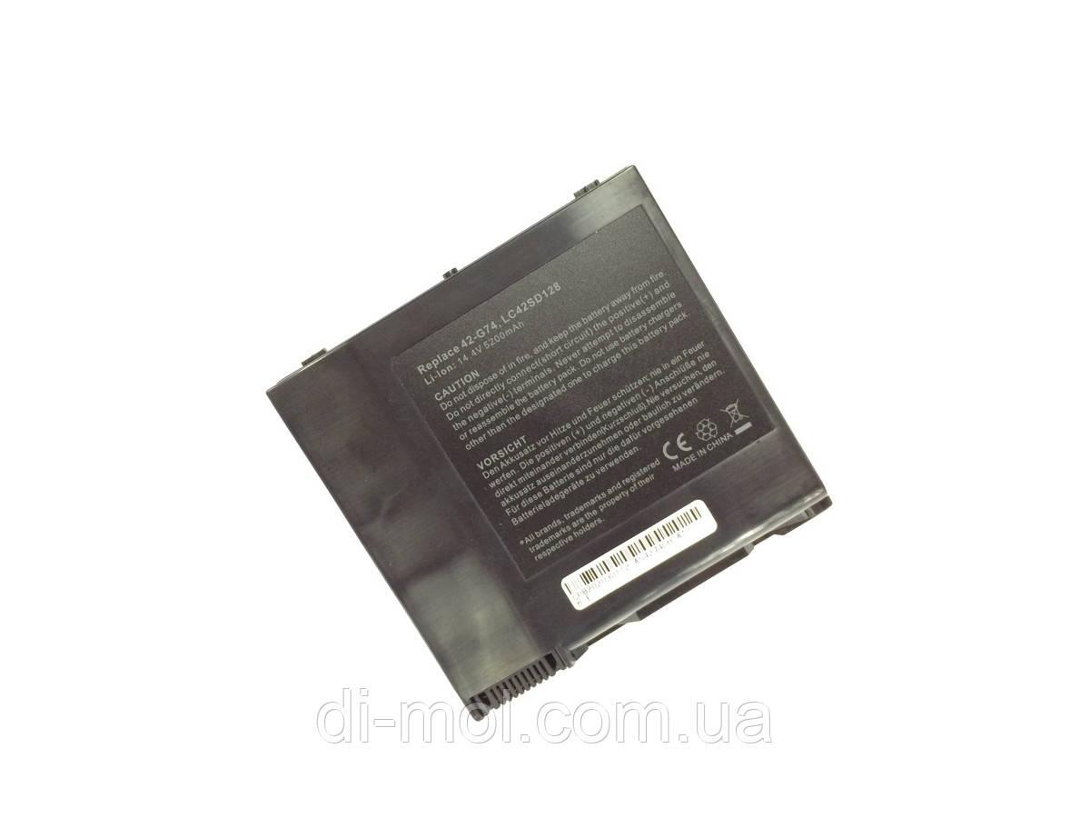 Аккумуляторная батарея для Asus G G74SX series, black, 5200mAhr 14.4-14.8v