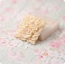Силиконовый молд на цветочное панно, для полимерной глины