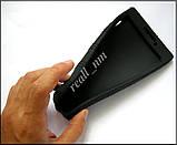 Черный силиконовый чехол-бампер для планшета Lenovo Tab 2 A7-20F, фото 2