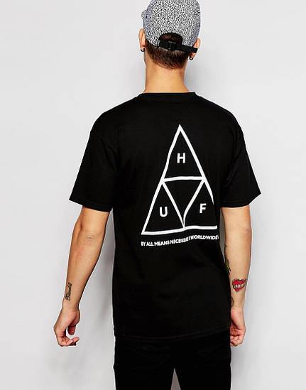 Футболка мужская HUF треугольник
