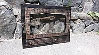 Дверцы в камин со стеклокерамикой