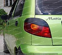 Реснички на Дэу Матиз (накладки на задние фары Daewoo Matiz)