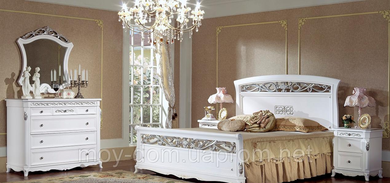 Кровать FL-1605 белая