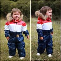 Детские комбинезоны Ткань: стеганная плащевка на 200 синтепоне, подкладка флис, 4 цвета ао № 180430