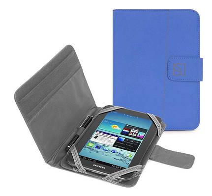 """Универсальный чехол для девайса Tucano Facile Stand Tablet 7"""" Blue TAB-FA7-B голубой"""