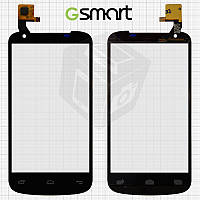 Сенсорный экран (Touchscreen) для Gigabyte GSmart GS202+, черный, оригинал