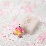 Силиконовый молд на медвежонка, для полимерной глины, фото 2