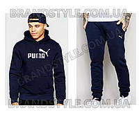 Спортивный костюм Puma темно-синий