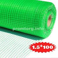 Сетка для птичников Ф-13 (яч.13мм*15мм) 1.5х100м цвет зеленый