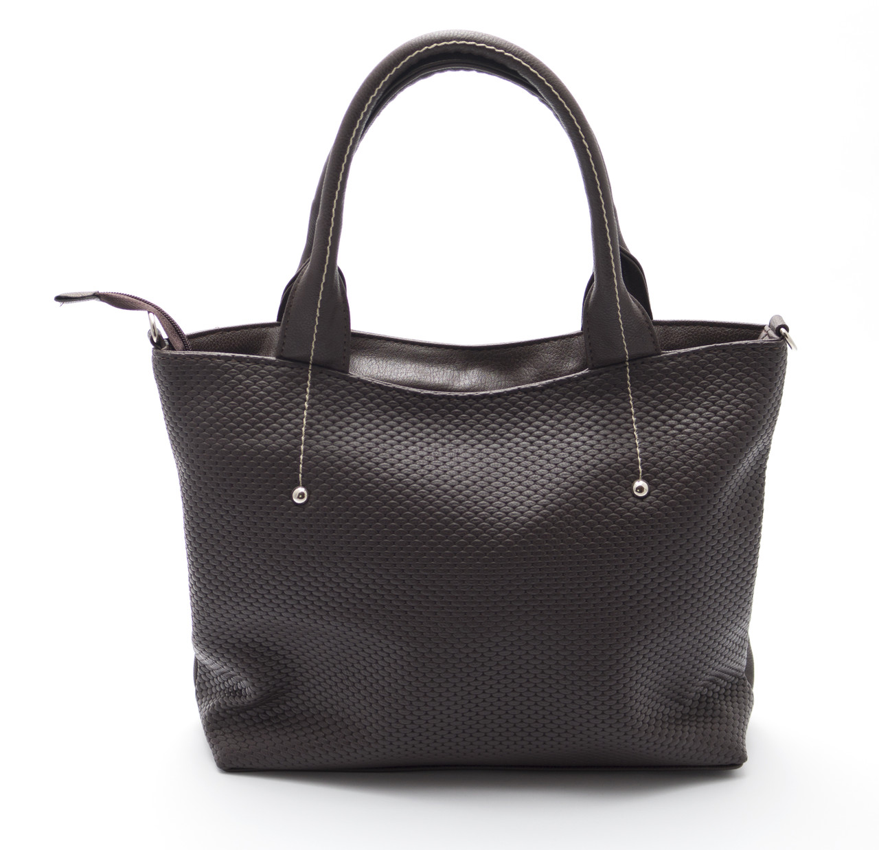 Классическая коричневая женская сумка Б/Н art.04-58