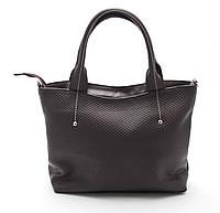 Классическая коричневая женская сумка Б/Н art.04-58, фото 1