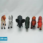 Дикие животные резиновые Гонконг 10 дюймов (H9910)