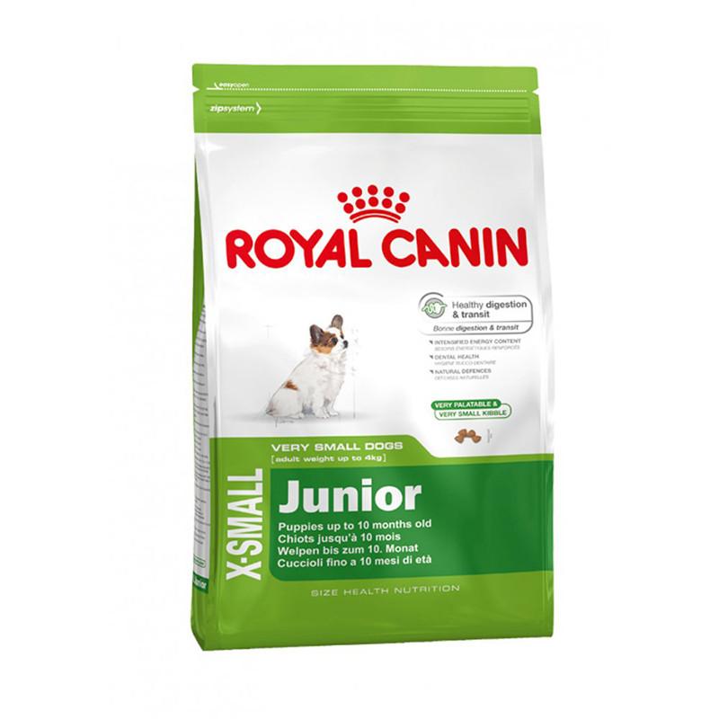 Сухой корм для щенков Royal Canin X-SMALL JUNIOR   0,5 кг