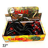 Змея Гонконг резиновая 23 дюйма (H382)