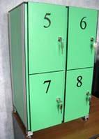 Купить шкафчики для раздевалок