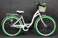 Велосипед Goetze 28 BLUEBERRY style LTD  +фара и корзина в подарок , фото 1
