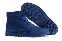 Мужские ботинки Palladium Pampa (паллаиум пампа) синие