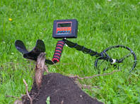 Металлоискатель импульсный Clone PI-AVR, глубина 1,9-3м Клон пиавр с цифровым дисплеем