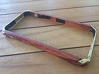 Деревянный бампер Element case Ronin для  iPhone 5/5s/SE gold