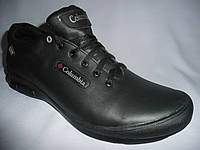 Кожание мужские кроссовки colambia(коламбия), черный.