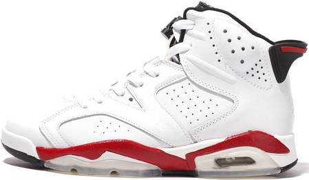 Баскетбольные кроссовки Air Jordan 6 Retro Chicago Bulls White ... af8aa7de55ca2