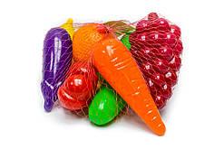 Набор Фрукти Овощи 8 предметов Орион (362)