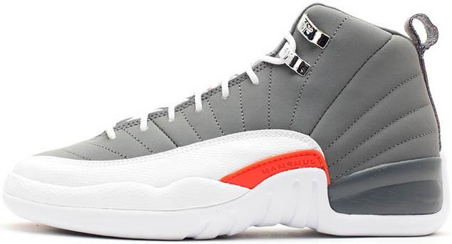 Баскетбольные кроссовки Air Jordan 12 Retro Cool Grey - Интернет-магазин  обуви в Киеве c4bd0dc7f3a