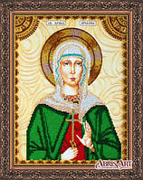 Набор для вышивания бисером Икона Святая Ариадна (Арина) АА-128