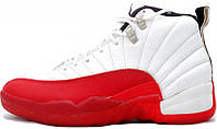 Баскетбольные кроссовки Air Jordan 12 OG Cherry White, найк джордан
