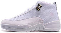 Баскетбольные кроссовки Nike Air Jordan 12 AJ12 Белый, найк джордан