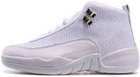 Баскетбольные кроссовки Nike Air Jordan 12 AJ12 Белый