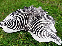Шкура зебры, ковер под зебру черно белый, шкуры в черно белую полоску