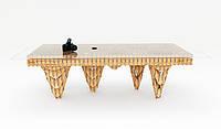 Дизайнерский стеклянный стол