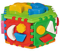 Конструктор куб Умный малыш Гиппо ТехноК (2445)
